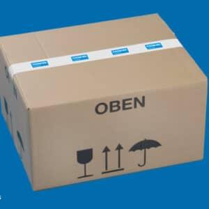 Trockeneis Box in Karton