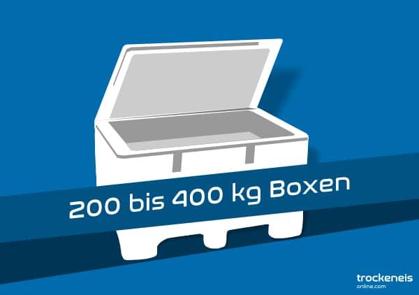 Trockeneis Mehrweg-Box für Großmengenlieferung 200 bis 400kg