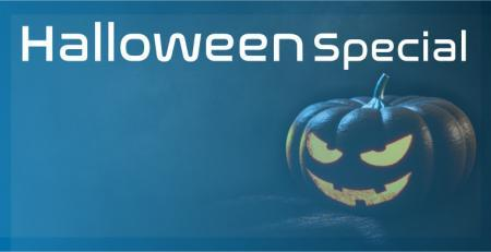 Trockeneis für Halloween